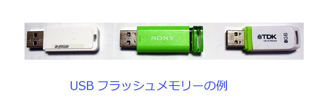photo USB Flash Memoryの例